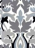 Reflections Glow Onyx Wallpaper 1907/905 By Prestigious Textiles